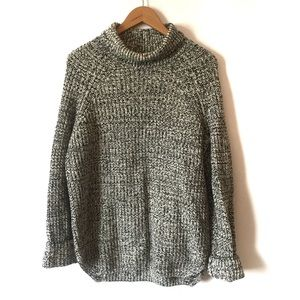 & Other Stories Oversized Knit Wool Turtleneck